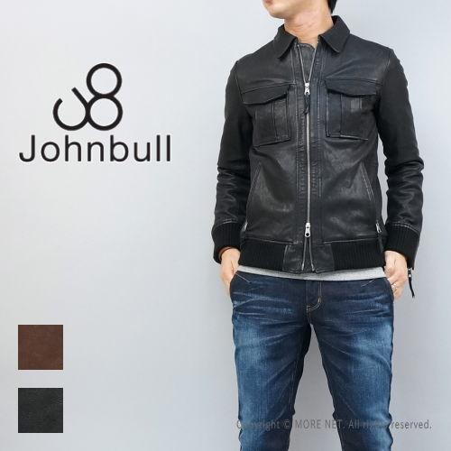 ゴートレザーで男らしいスタイル!Johnbull(ジョンブル) ゴートレザー ジャケット 送料無料
