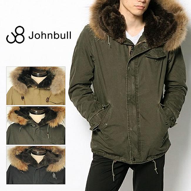 スマートに着こなす大人のミリタリージャケット♪JOHNBULL(ジョンブル) ショートフード ミニタリージャケット 16422 送料無料