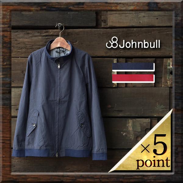 タイトめシルエットでシャツ感覚♪JOHNBULL(ジョンブル) メンズ ジップアップ ジャケット メンズファッション アウター ジャンパー ブルゾン 12357 送料無料