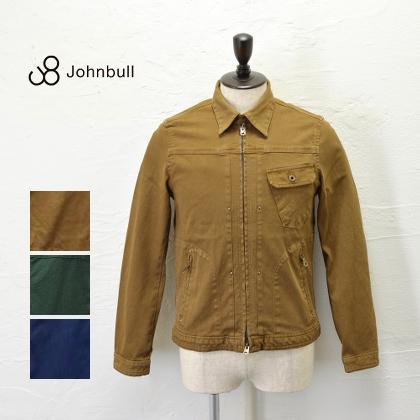 スタイリッシュなデザイン♪JOHNBULL(ジョンブル) メンズ ジップアップ ワークブルゾン ストレッチ 12415 送料無料