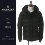 袖にはさりげなくロゴをプラス♪<br>MONCLER(モンクレール) ダウンジャケット RYAN ライアン フード ダウンブルゾン ブランド メンズ MCMCRYAN7 送料無料