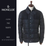 袖にはお馴染みのロゴワッペンをプラス♪<br>MONCLER(モンクレール) ダウンジャケット シャツダウン CLOVIS クロヴィス MCCLOVIS7 メンズ ブランド MCCLOVIS7 送料無料