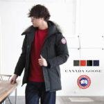 スーツとも相性が良いシルエット♪<br>CANADA GOOSE(カナダグース) JASPER PARKA ジャスパー パーカ ダウンジャケット メンズ 3438JM ブラック 送料無料