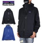 PATAGONIA パタゴニア ジャケット ナイロンジャケット マウンテンパーカー アウトドア 防水 かっこいい お洒落 メンズ レディース ブランド 大きいサイズ M's RAINSHADOW 3L JKT 85115 ブラック S M L 送料無料