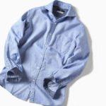 SHIPS(シップス) ペルヴィアン ピマ ネル セミワイドカラー シャツ メンズ 送料無料