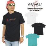 GRAMICCI(グラミチ) レインボーロゴ 半袖Tシャツ メンズ アウトドア レジャー フェス RAINBOW LOGO TEE 19S087 GUT-19S087