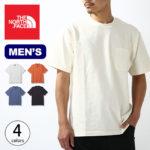 THE NORTH FACE ノースフェイス Tシャツ メンズ 生地厚 ポケット付き 半袖 THE NORTH FACE S/S Heavy Cotton Tee ショートスリーブ ヘビーコットンティー 半T 2021春夏新作 ポケT nt32009 送料無料